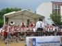 Fest der Vereine, Aufbau und Generalprobe Frühschoppen